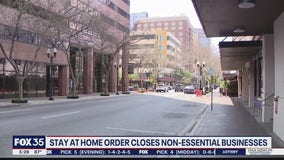 Stay-at-home order closes non-essential businesses