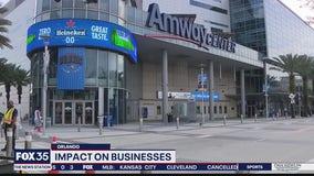 NBA season suspension will impact businesses