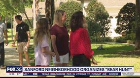 Sanford neighborhood organizes 'bear hunt'