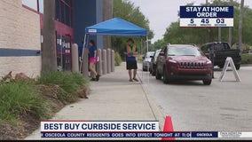 Best Buy curbside service