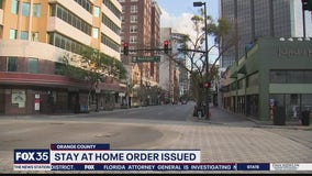 Stay-at-home order issued in Orange County