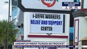 Orlando unemployment skyrockets