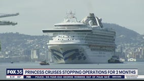 Princess Cruises stopping operations for 2 months