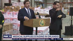 Millions of medical supplies arrive in Orlando