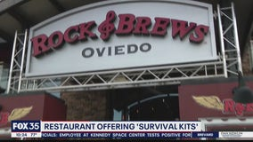 Restaurant offering survival kits to go