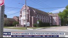 Church member tests positive for coronavirus