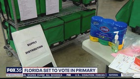 Florida set to vote in primary amid coronavirus concerns