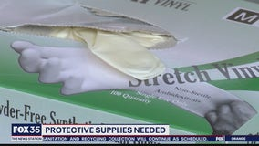 Protective supplies needed
