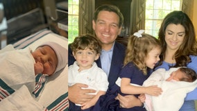 Governor Ron DeSantis, First Lady Casey DeSantis welcome in baby girl