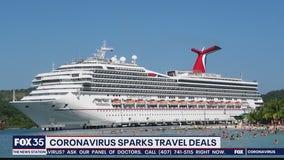Coronavirus spark travel deals