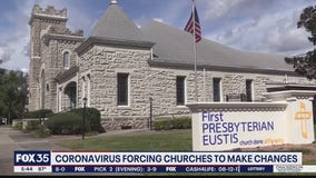 Churches making changes due to coronavirus concerns
