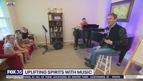 David Does It: Lifting spirits through music