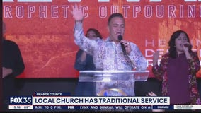 Orlando-area church has traditional service