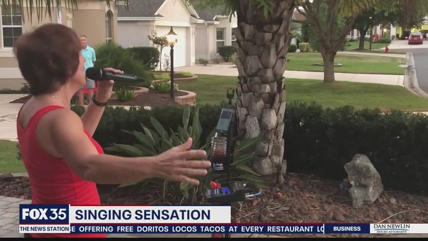 Central Florida woman goes viral for driveway concerts amidst social distancing