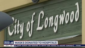 Longwood's mayor, residents help healthcare workers stay protected