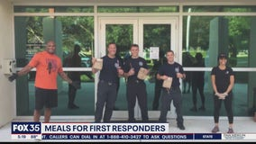 Group provides meals for first responders