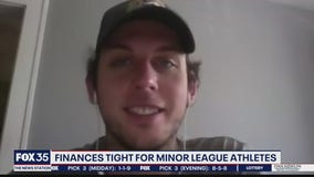 Finances tight for minor league athletes