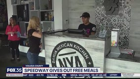 NASCAR gives out meals to essential workers