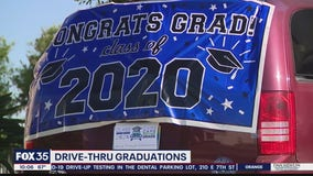 Car, Caps, and Grads will provide drive-thru graduation