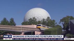 Workers struggling to return to Italy