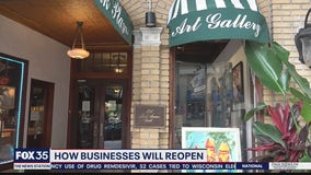 How businesses will reopen on Monday