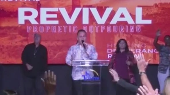 Central Florida church to hold Sunday service as stay at home order allows them to do so