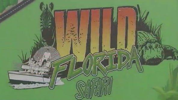 Drive thru safari at Wild Florida closed