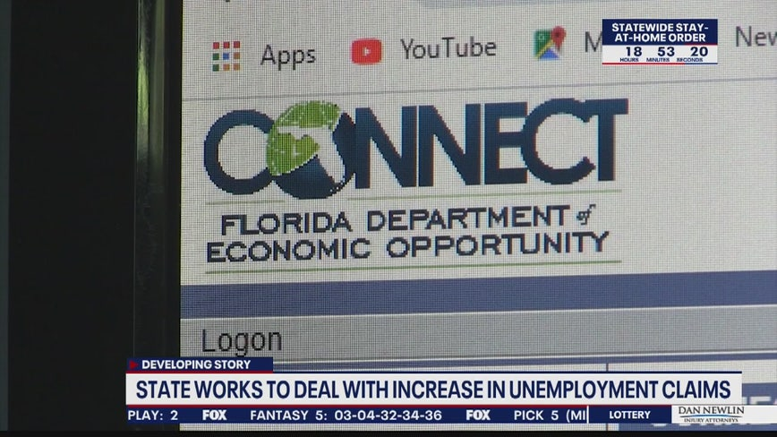 State working to speed up process as unemployment claims skyrocket