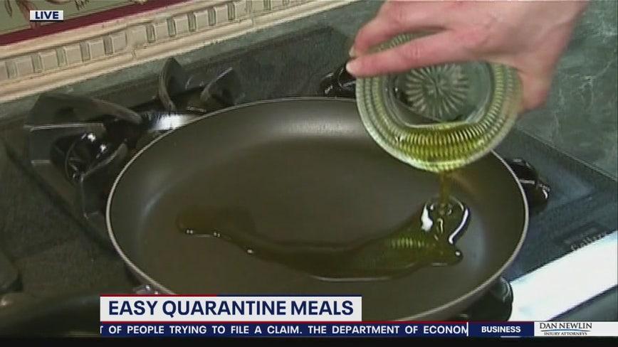 Easy quarantine meals