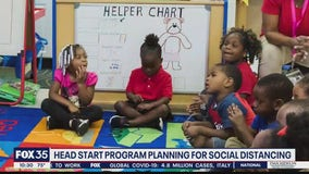 Head Start program planning for social distancing