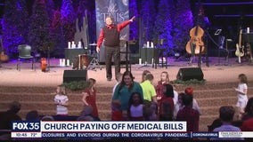 Church paying off medical debt for families