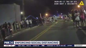 Block party turned violent, sheriff says