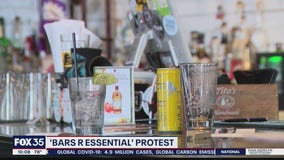 Bars plan protest to reopen