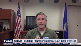 Florida National Guard member discusses Orlando flyover