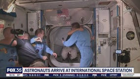 Crew Dragon astronauts arrive at ISS