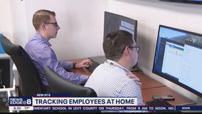 Companies tracking employees at home