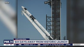 Days away from historic launch at Cape Canaveral