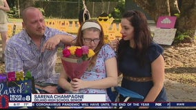 Parade held for terminally ill graduating senior
