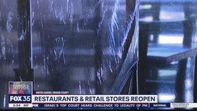 Restaurant creates partitions
