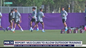 MLS approves outdoor training