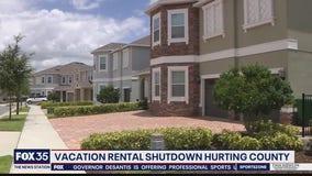 Vacation rental shutdown hurting county