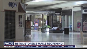 Some malls are reopening, others delay