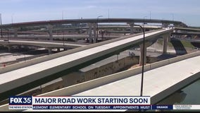 Major road work starting soon on Interstate 4 in Orlando