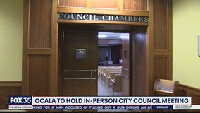 Ocala to hold next Council meeting in chambers