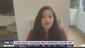 Researchers say loud talking could spread COVID-19