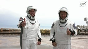 Timeline: NASA astronauts schedule leading up to the launch