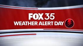 FOX 35 Weather Alert Day: Severe storms possible on Memorial Day in Central Florida
