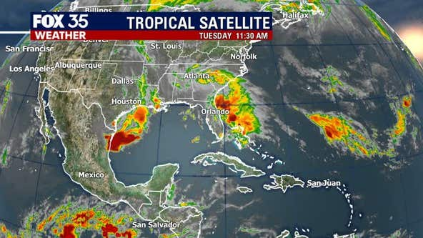 Tropical system continues to soak Central Florida