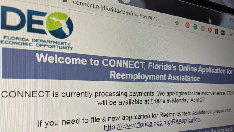 florida unemployment website maintenance wtvt