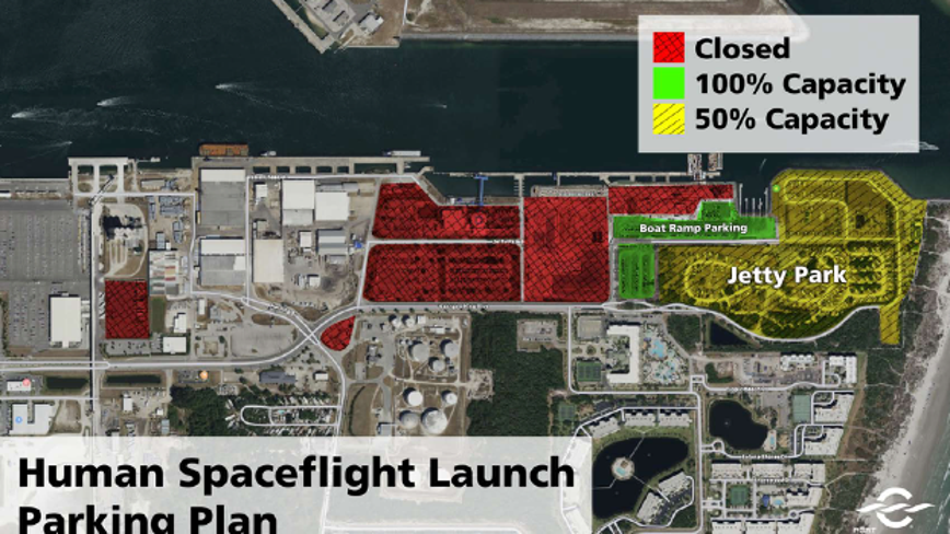 Want to watch the SpaceX launch? Here's where you can and can't park